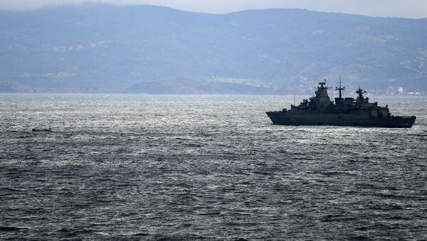 Греческий военный корабль - Sputnik Արմենիա