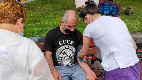 Исраел Акопкохян объявил голодовку (13 августа 2020). Еревaн - Sputnik Արմենիա