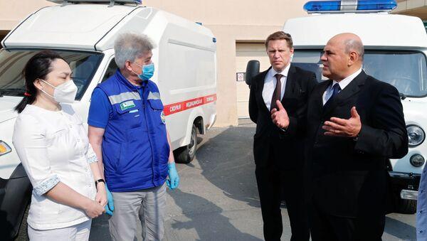 Рабочая поездка премьер-министра РФ М. Мишустина в Дальневосточный федеральный округ - Sputnik Արմենիա