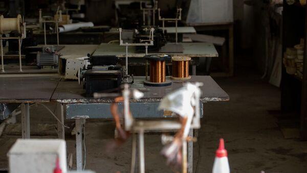 Предприятие по производству дросселей Артамете в городе Ноемберян - Sputnik Армения