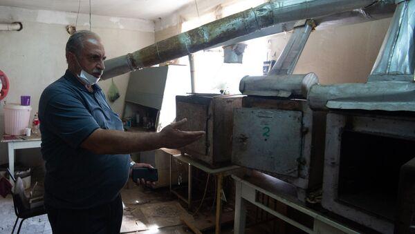 Гагик Абовян, основатель предприятия Артамете по выпуску дросселей в городе Ноемберян - Sputnik Армения