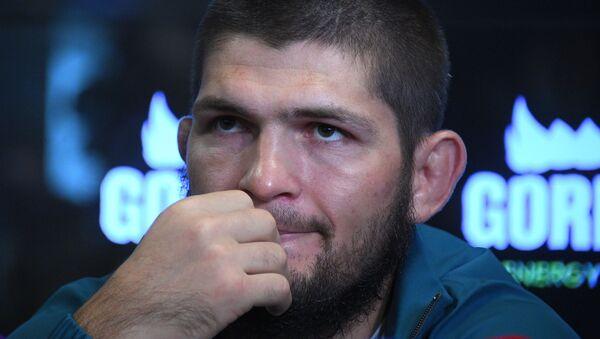 Российский чемпион UFC в лёгком весе Хабиб Нурмагомедов  - Sputnik Армения