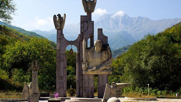 Памятник Гарегину Нжде в Капане - Sputnik Արմենիա