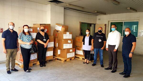 Гуманитарный груз от армян Лос Анджелеса отправлен в Бейрут - Sputnik Армения