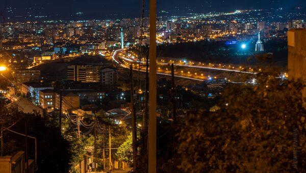Ночной Ереван - Sputnik Արմենիա