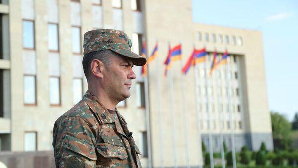 Капитан Рубен Санамян - Sputnik Армения