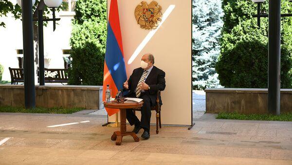 Президент Армен Саркисян встретился с представителями интеллигенции (21 августа 2020). Еревaн - Sputnik Արմենիա