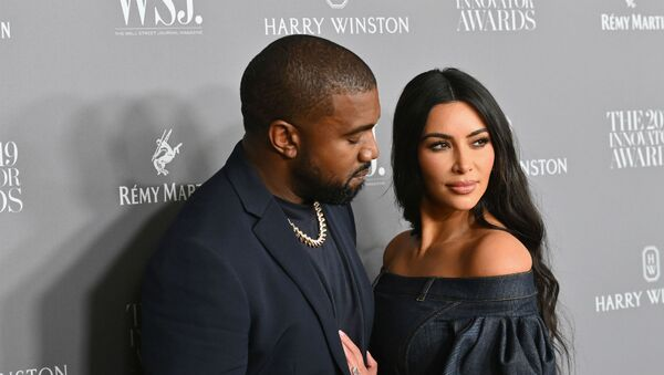 Ким Кардашьян Уэст и Канье Уэст на церемонии награждения Innovator Awards WSJ Magazine 2019 в MOMA (6 ноября 2019). Нью-Йорк - Sputnik Армения
