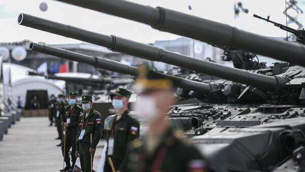На Международном военно-техническом форуме (МВТФ) Армия-2020 в военно-патриотическом парке Патриот - Sputnik Արմենիա