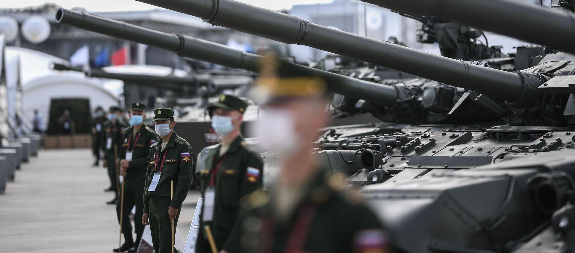 На Международном военно-техническом форуме (МВТФ) Армия-2020 в военно-патриотическом парке Патриот - Sputnik Արմենիա, 1920, 27.04.2021
