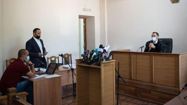 Судебное заседание по делу Гагика Хачатряна (26 августа 2020). Еревaн - Sputnik Армения
