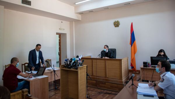 Судебное заседание по делу Гагика Хачатряна (26 августа 2020). Еревaн - Sputnik Արմենիա