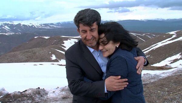 Татевик Киракосян и Четин Йылмаз в Сасуне - Sputnik Армения
