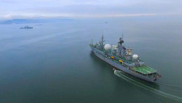 «Океанский щит» в Беринговом море: прошёл новый этап учений ВМФ - Sputnik Армения