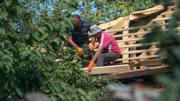Восстановительные работы в общине Айгепар, Тавушская область - Sputnik Արմենիա