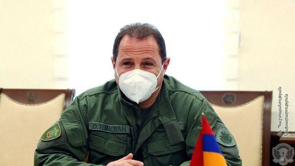 Министр обороны Армении Давид Тоноян (1 сентября 2020). Еревaн - Sputnik Армения