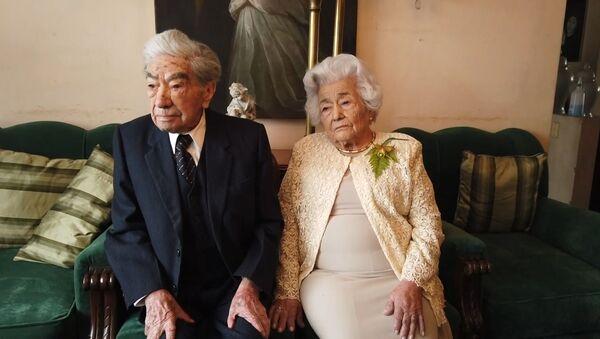 Сколько живет любовь? Прожившие вместе 79 лет супруги поделились секретом крепкого брака - Sputnik Армения