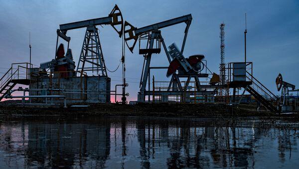 Работа нефтяных станков - качалок - Sputnik Արմենիա