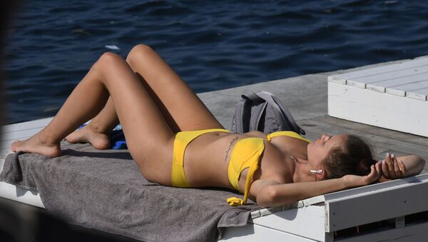 Отдых на пляже - Sputnik Արմենիա