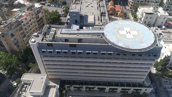 Больница Святого Георгия в Бейруте после смертельных взрывов - Sputnik Армения