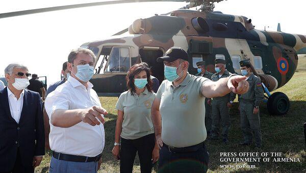 Премьер-министр Никол Пашинян посетил приграничные села Тавушской области (7 сентября 2020). Чинари - Sputnik Արմենիա