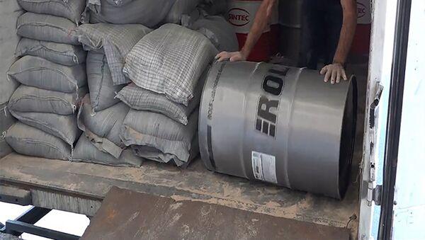КГД выявил контрафактный импорт машинного масла - Sputnik Армения