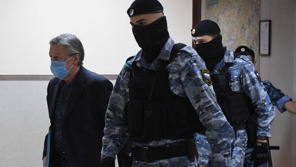 Актёр Михаил Ефремов на оглашении приговора - Sputnik Армения
