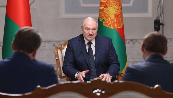 Президент Белоруссии А. Лукашенко дал интервью российским журналистам - Sputnik Армения
