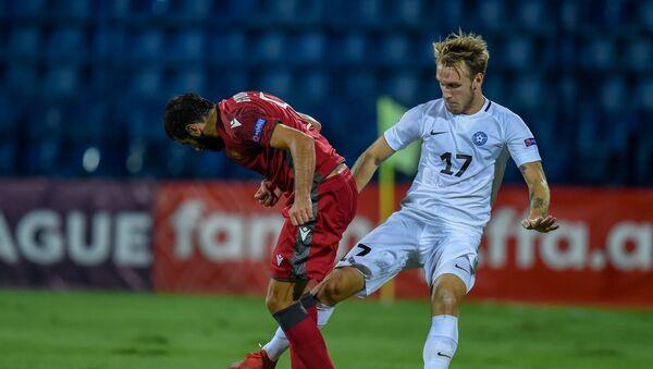 Матч Лиги Наций УЕФА между сборными Армении и Эстонии (8 сентября 2020). Еревaн - Sputnik Армения