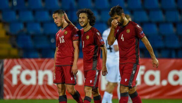 Матч Лиги Наций УЕФА между сборными Армении и Эстонии (8 сентября 2020). Еревaн - Sputnik Արմենիա
