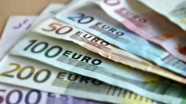 Денежные купюры - евро - Sputnik Армения