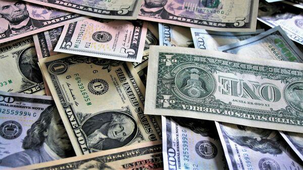 Денежные купюры - доллары - Sputnik Армения