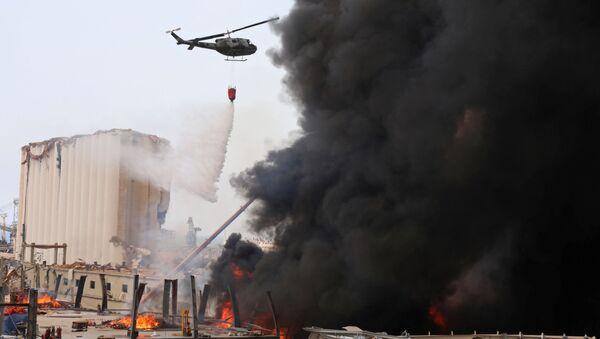 Пожар в порту Бейрута (10 сентября 2020). Ливан - Sputnik Армения