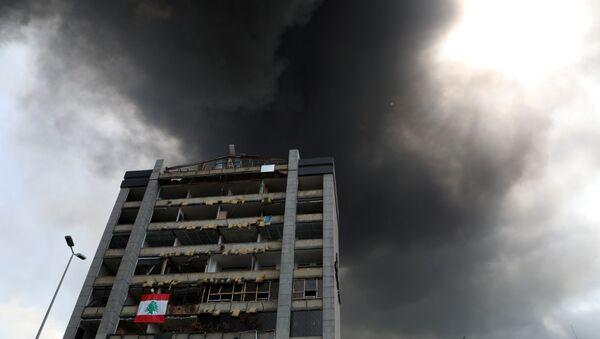 Последствия пожара в порту Бейрута (10 сентября 2020). Ливан - Sputnik Армения