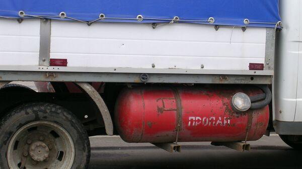 Типовой модифицированный ГАЗ 3302 на пропановом топливе - Sputnik Армения