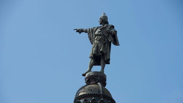 Памятник Христофору Колумбу в Барселоне - Sputnik Արմենիա