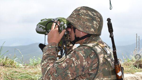 Армянский военнослужащий - Sputnik Армения