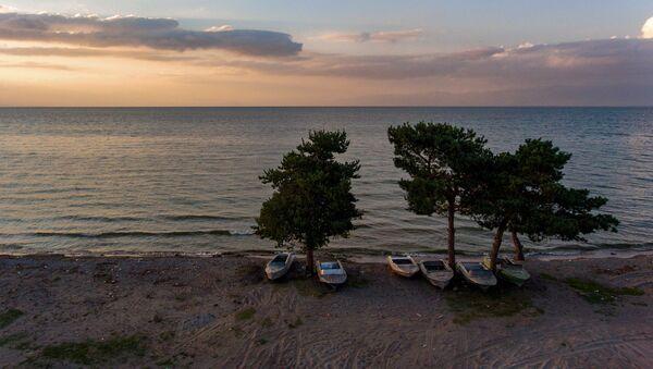 Закат на озере Севан - Sputnik Արմենիա