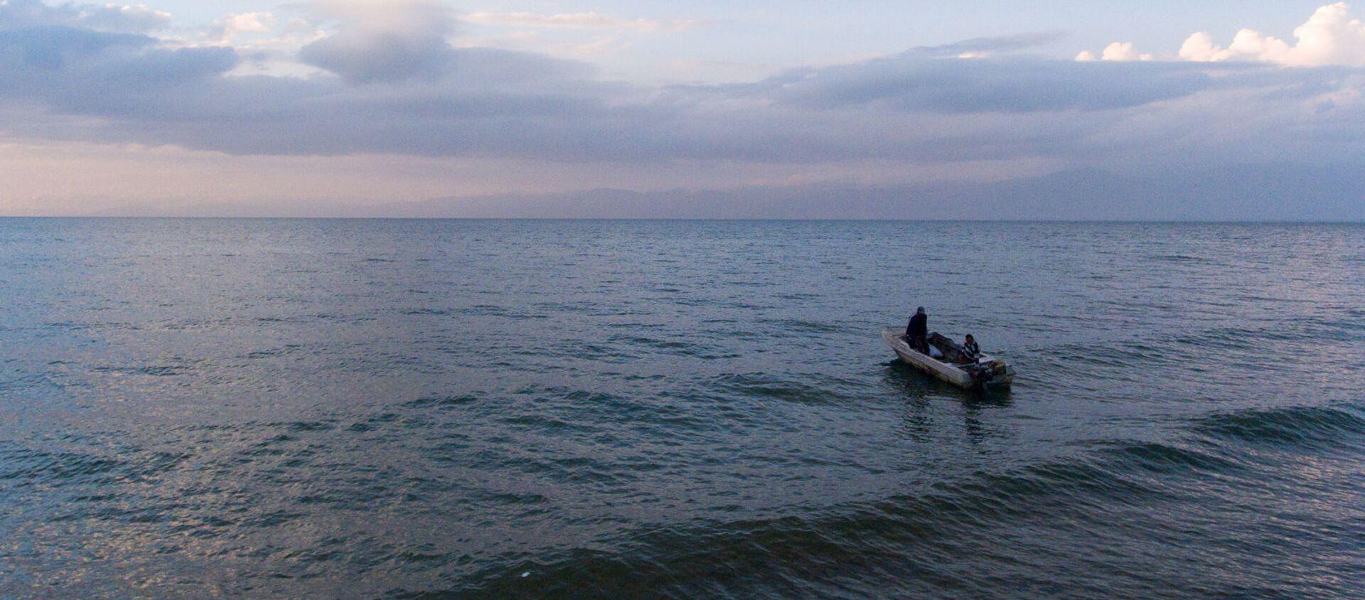 Рыбаки на озере Севан - Sputnik Արմենիա, 1920, 13.08.2021