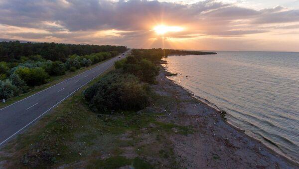 Закат на озере Севан - Sputnik Армения