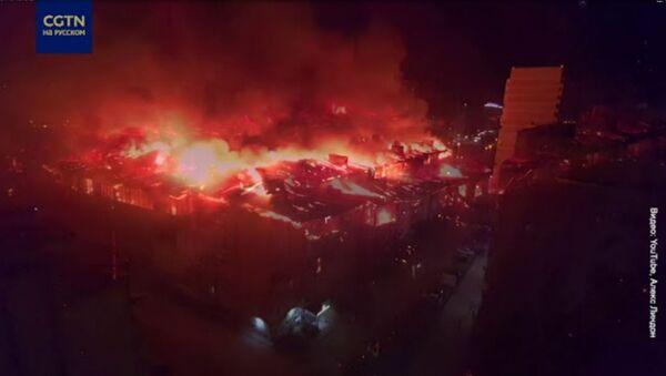 Крупный пожар в жилом доме в Краснодаре - Sputnik Արմենիա