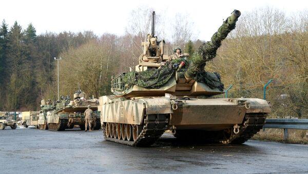 Американский танк M1A1 Abrams - Sputnik Արմենիա