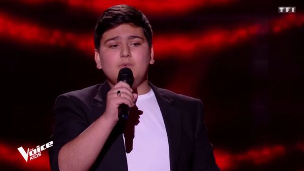 12-летний Самвел, участник The Voice Kids 2020 во Франции - Sputnik Արմենիա