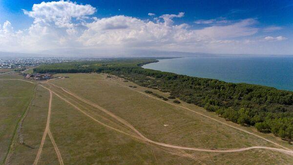 Территория бывшего аэропорта в Мартуни - Sputnik Армения