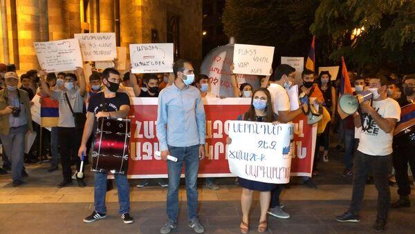 Молодежное крыло АРФД требует отставки министра образования Араика Арутюняна - Sputnik Армения