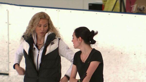 Фигуристка Е.Медведева вернулась к тренеру Э.Тутберидзе, с которой начинала свой звездный путь. - Sputnik Армения