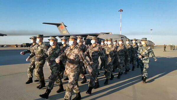 Военные Беларуси и Китая готовятся к учениям Кавказ-2020 - Sputnik Армения