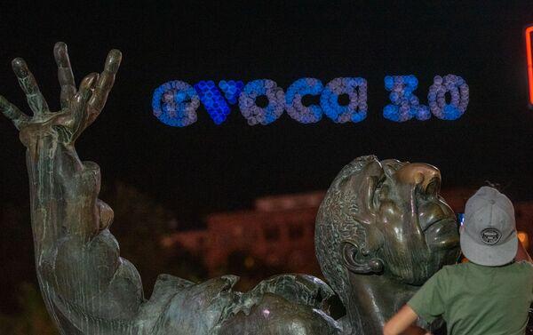 Լուսային դրոն շոու Հայաստանում - Sputnik Արմենիա