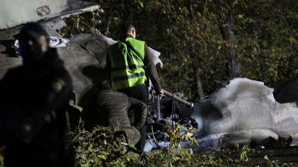 Последствия крушения военного самолета Ан-26 под Чугуевым недалеко от Харькова (25 сентября 2020). Украина - Sputnik Армения