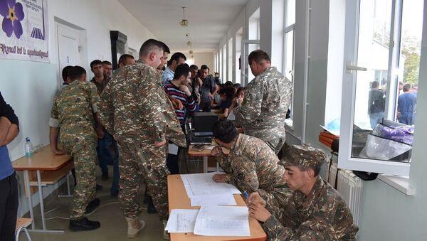 Мобилизация в Карабахе - Sputnik Արմենիա